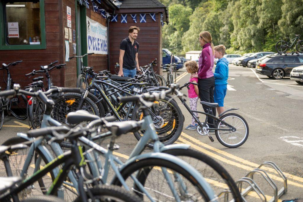 cycle hire near callander